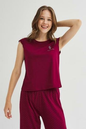 Picture of Base Burgundy Trousers Set
