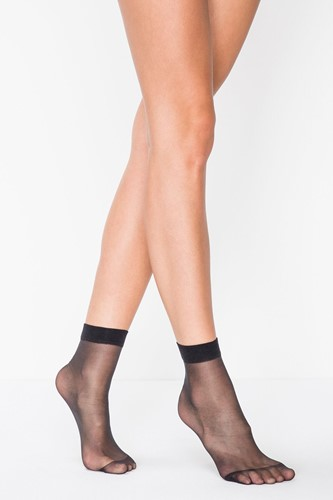 Picture of Barely There 5 Den Socket Tights  Black