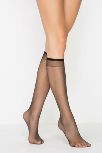 Picture of Barely There 5 Den Underknee Tights Black