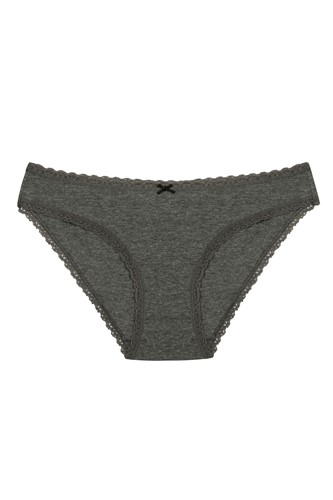Picture of Daily Lace 3 Lu Slip Grey Melange Mix
