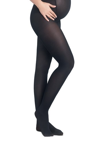 Picture of Maternity 40 Tights Black