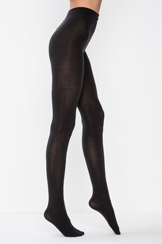 Picture of Angora Yun Mix Tights   Black